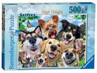 Selfies Dogs Delight - 500 Pieces |Ravensburger